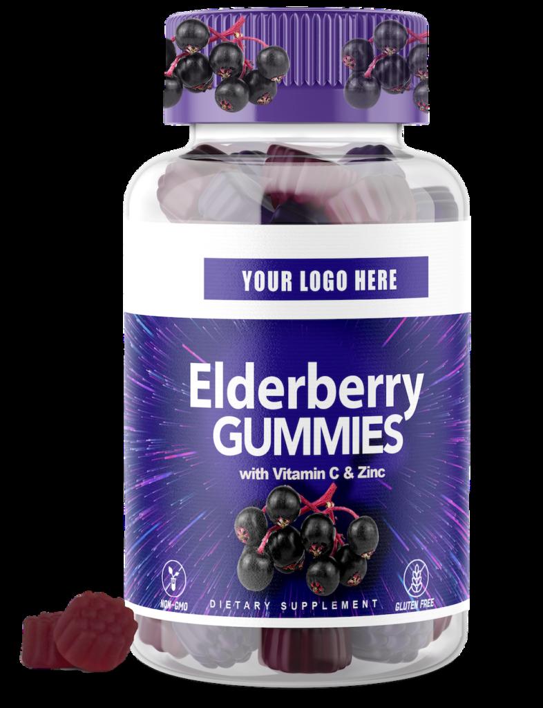 Elderberry-WithVitaminC ZincGummies